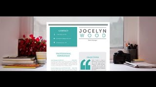 "Original CV ""Impressive"" by Mycvfactory"