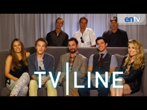 Falling Skies - Comic-Con 2013 - Cast Interview [VIDEO]