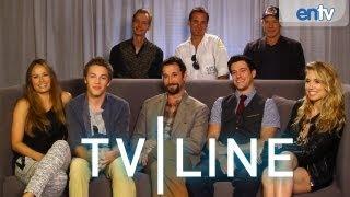 """Рухнувшие небеса""или""Сошедшие с небес"", ""Falling Skies"" Interview - Comic-Con 2013 - TVLine"