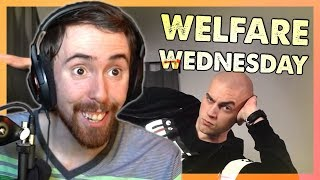 Asmongold: Twitch Chat Decides His Music but it's EPIC (Welfare Wednesday Ep. 4)