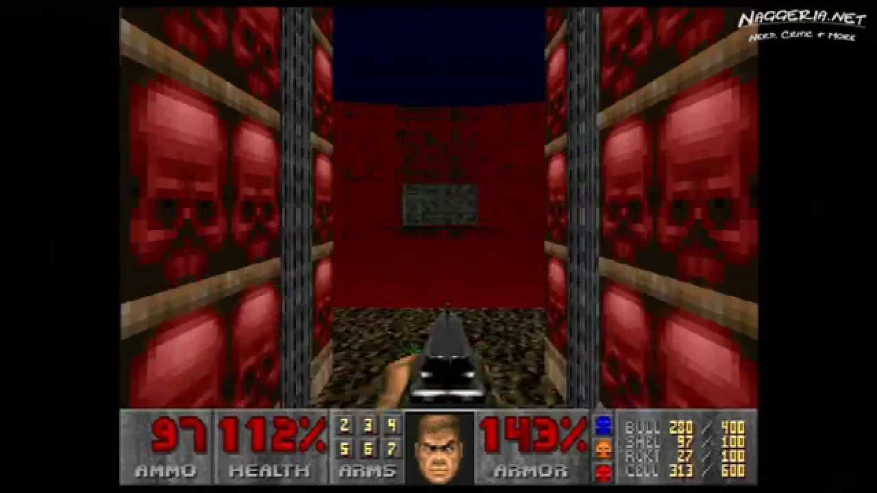 "Doom (E3M7 ""Gate to Limbo"") Walkthrough – Ultra-Violence"