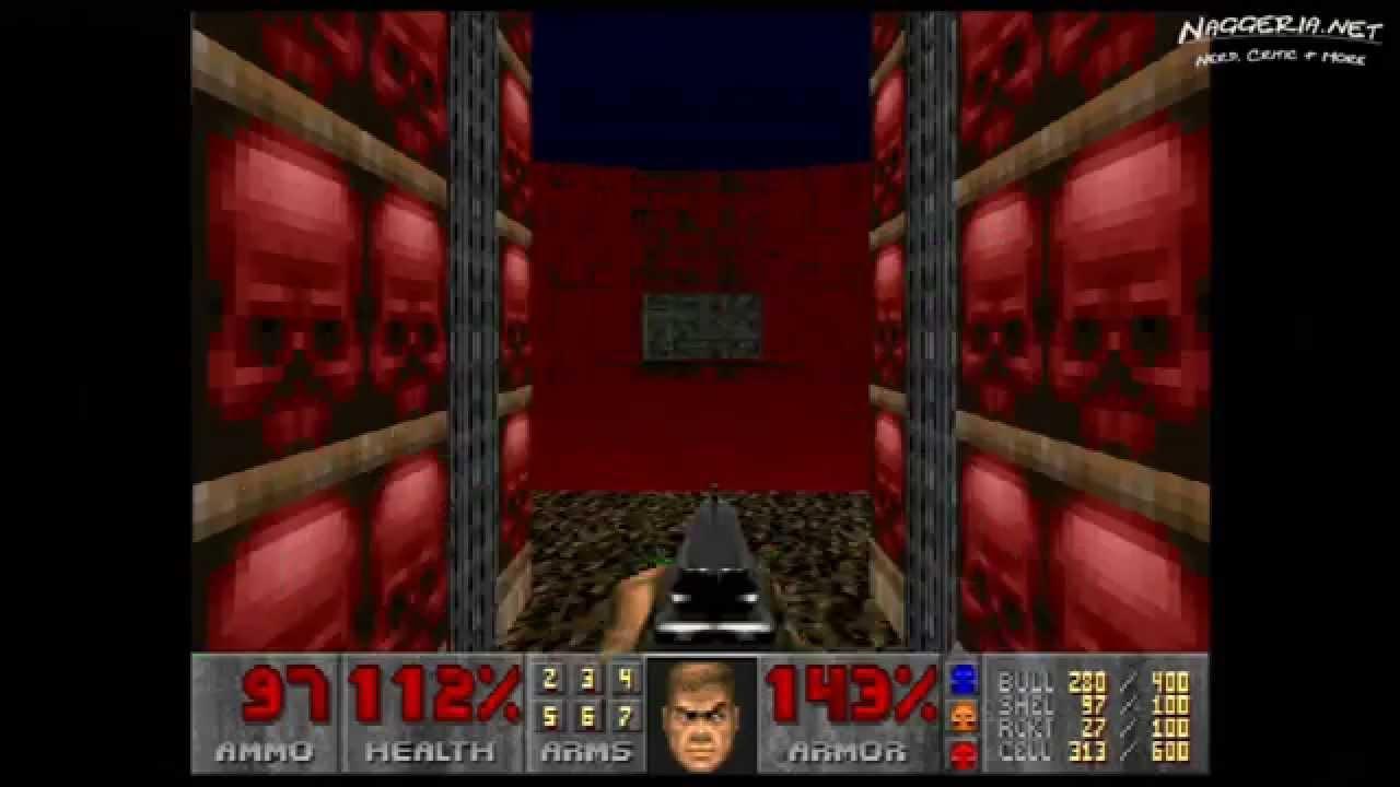 "Doom (E3M7 ""Gate to Limbo"") Walkthrough – Ultra-Violence"