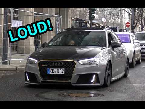 502HP Audi RS3 R By MTM Tuning - LOUD Revs & Exhaust Sound!