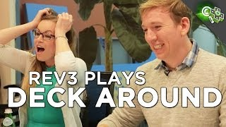Rev3 Plays DECK AROUND - A Bluffing Card Game in Explicit Detail