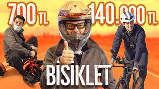 700TL Bisiklet vs. 140.000TL Bisiklet! (#SonradanGörme)