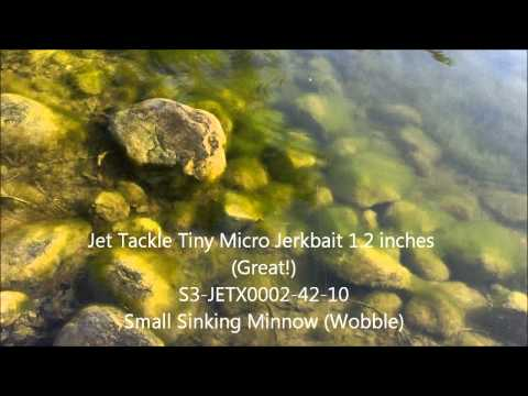 Jet Tackle Online Micro Lures in Action