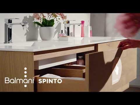 Luca Varess Calibro toilette suspendue blanc Rimslim avec siège fino