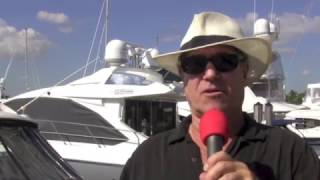 At the 2017 Palm Beach Boat Show