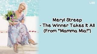 """Meryl Streep - The Winner Takes It All (From """"Mamma Mia"""
