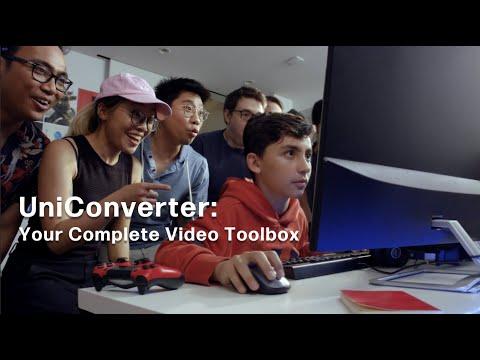 What is Wondershare Uniconverter?