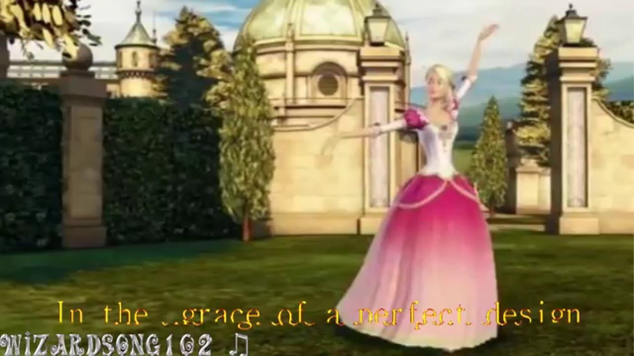 Barbie and The 12 Dancing Princessess - Shine lyrics . .