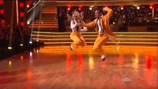 DWTS Benji and Lacey Schwimmer 10/2012