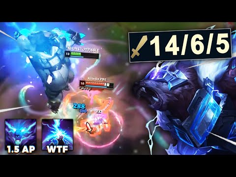 REWORKED AP VOLIBEAR IS NUTS!! JUST PRESS R AND WATCH THEM MELT - League of Legends