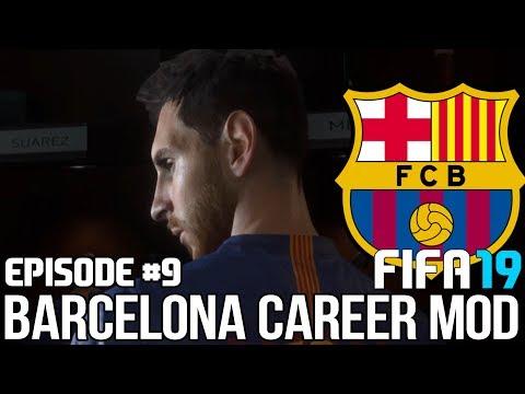 FIFA 19   Карьера тренера за Барселону [#9]   КТО СПАСЁТ БАРСЕЛОНУ ? МЕССИ ?
