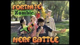 Fortnite Zombie Nerf Battle