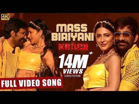 Mass Biriyani Full Video Song - Krack