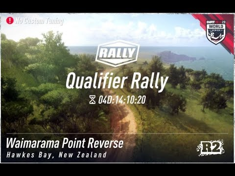 Dirt Rally 2.0 - World Series - Waimarama Point Reverse - Practice #2