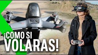 DRON DJI FPV, Análisis - ¡Es como si volaras!