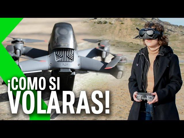 DRON DJI FPV, Análisis - pilotar un dron en primera persona es UNA EXPERIENCIA COMO NUNCA ANTES