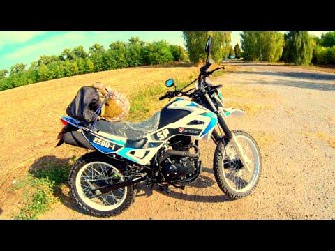 Дальнобой на новом мотоцикле Spark SP250D-1. Еду по полям как по асфальту!