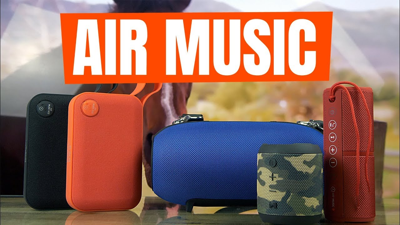 Портативная Акустика Air Music CUP (Red) video preview