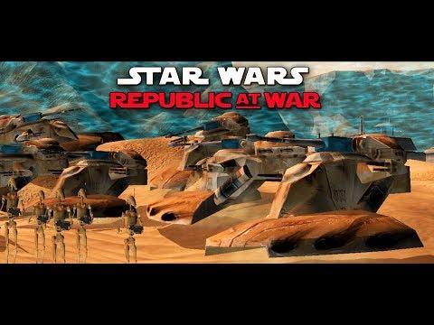 Star Wars EAW FOC Republic at War 1 2 Mod Part 4 - смотреть онлайн