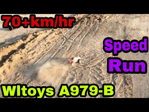 70KM/hr off-Road RC Truck! WLTOYS A979B