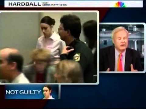 Meg Strickler on Hardball with Chris Matthews on July 5, 2011 discussing Casey Anthony