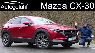 Mazda CX-30 FULL REVIEW new Skyactiv-X AWD and automatic - Autogefühl