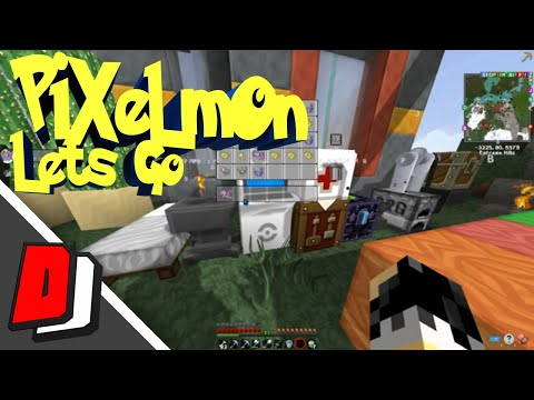 Minecraft Pixelmon 4 2 7 Ep 20- Awesome Update! (Pixelmon