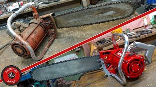 1960s Electric Chainsaw [Restoration] (Part 2 of 2)