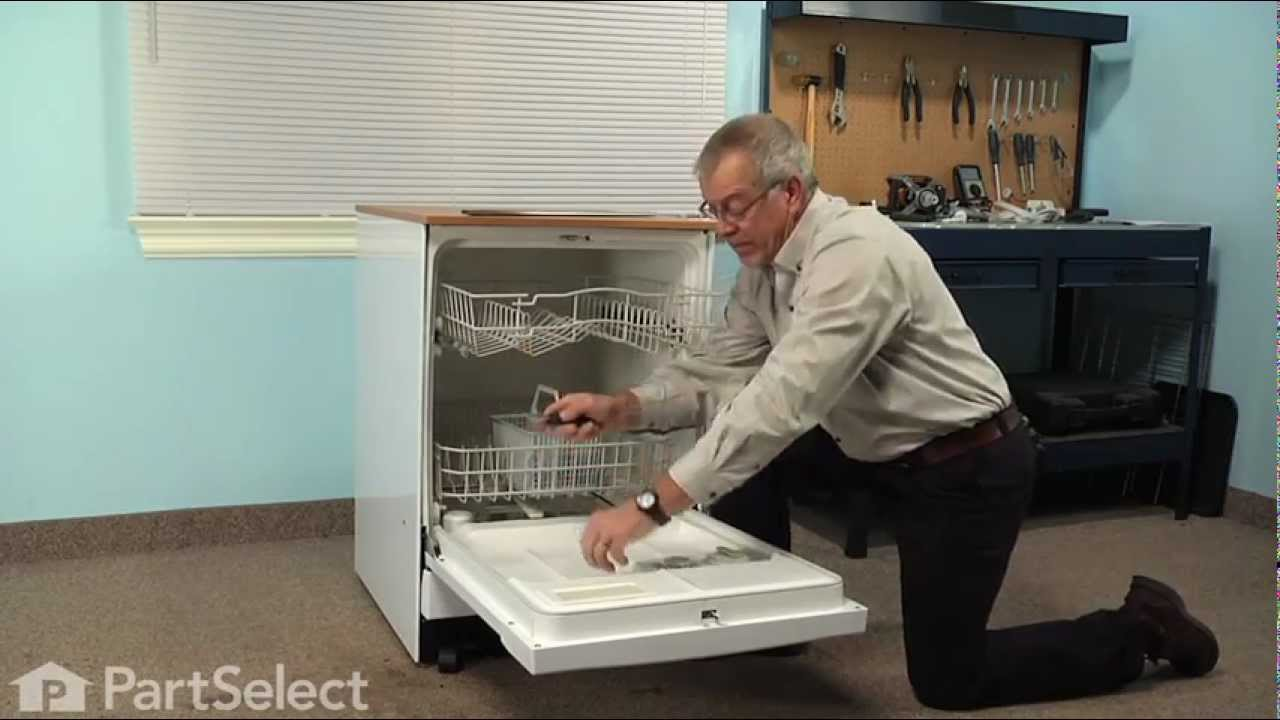 Replacing your General Electric Dishwasher Upper Rack Slide