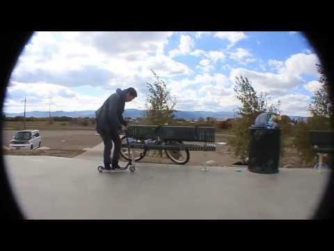 Jonny and Brandon at Driggs Skate Park