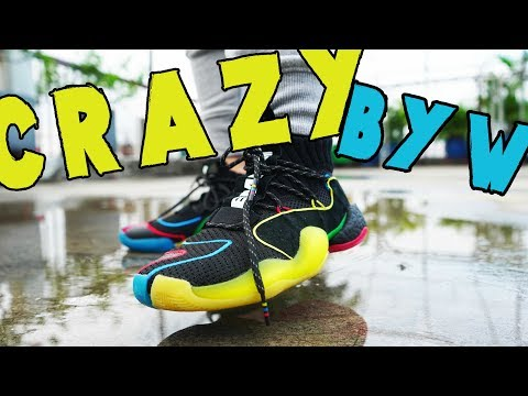 Pharrell Williams CRAZY BYW LVL X REVIEW AND ON-FEET