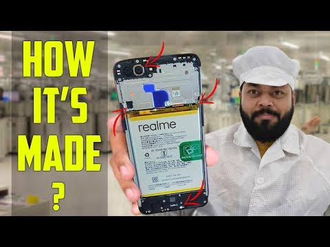 How Smartphones Are Manufactured & Assembled? Realme Factory Tour in Hindi⚡⚡⚡