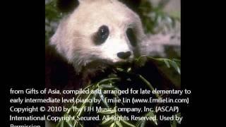 中國民謠鋼琴譜:掀起你的盖头来Chinese Folk Song: Lift Your Veil.