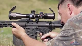 Жахнул пару раз, оптика из США!  Спортивное стрелковое оружие. производства США