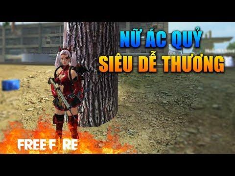 [Garena Free Fire] TEST Trang Phục Ác Quỷ   Sỹ Kẹo