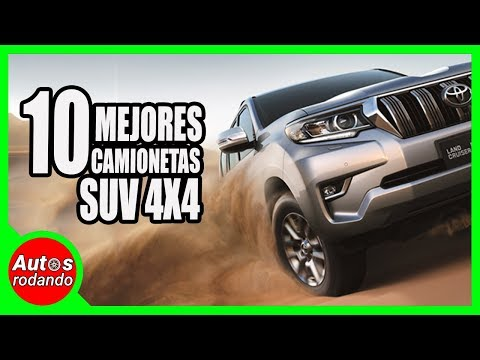 10 MEJORES CAMIONETAS SUV 4x4 PARA EL 2020 🔥