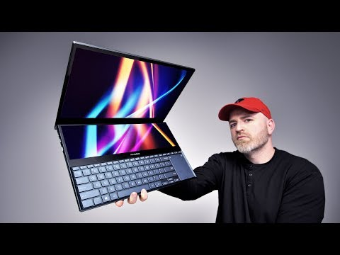 The Incredible Dual Screen Laptop Is Here