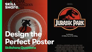 How To Design The Perfect Poster   Skillshare Questions