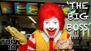 Top 10 Scary Things Fast Food Employees Won