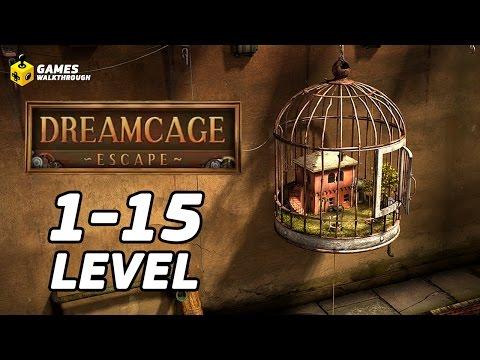 Dreamcage Escape: Level 1-15 FULL Walkthrough