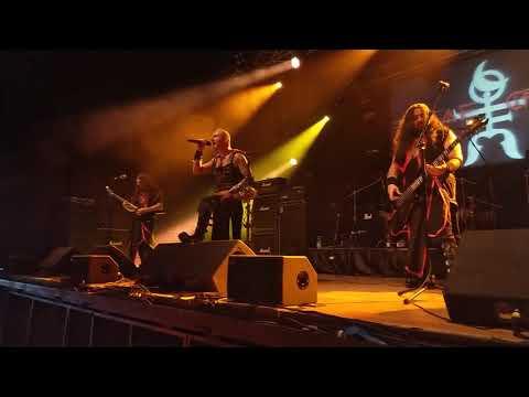 Rosae Crucis - Guerra Santa - Live Club Trezzo Sull'Adda(MI) Metalitalia.com Festival 15/09/18 italy