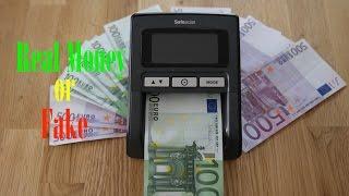 Safe Scan Geldscheinprüfgerät Unboxing