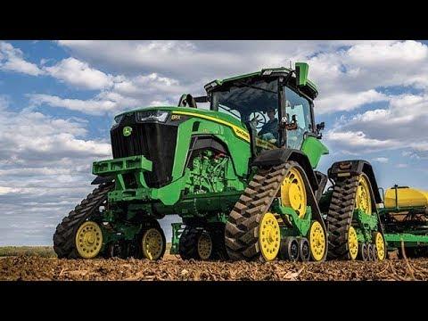 John Deere  8RT traktor - film på YouTube