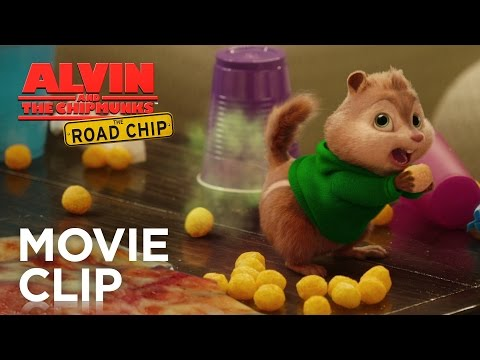 Alvin and the Chipmunks: The Road Chip (Clip 'Pizza Toots')