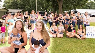 Dozens of Breastfeeding Moms Stage 'Nurse-In' Protest at Public Pool