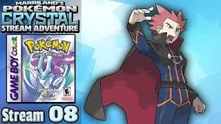 Marriland's Pokémon Crystal Adventure • Stream #08 • The Elite Four and Champion!
