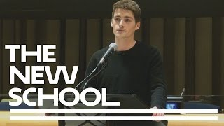 Finn Harries Talks To Fellow Parsons Students At The United Nations | Parsons School Of Design